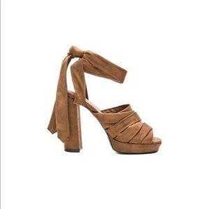 Jeffery Campbell Chablis Ankle Wrap Sandal Heels